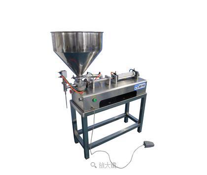 GZX-301型膏体灌装机
